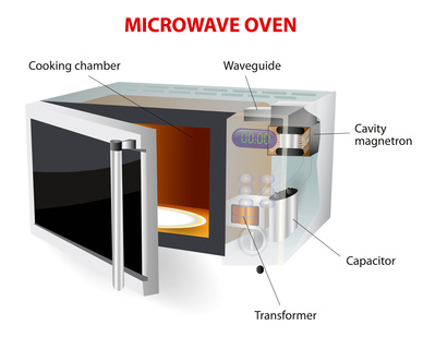 der aufbau des mikrowellenherdes transformator magnetron und. Black Bedroom Furniture Sets. Home Design Ideas